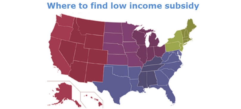 how to get a low income subsidy
