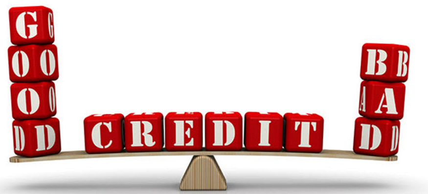 different degrees of bad credit